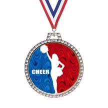 Holographic Diamond Cheer Medal