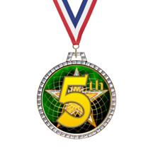 Diamond 5th Place Insert Medal