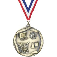 Die Cast Medal - Science