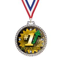 Diamond Business Insert Medal