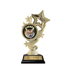 Star Ribbon Mascot Trophy