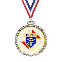 Diamond Knights of Columbus Insert Medal