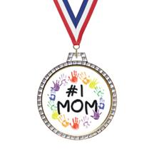 Diamond Mother's Day Insert Medal