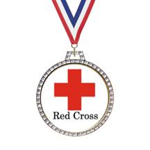 Diamond Red Cross Insert Medal