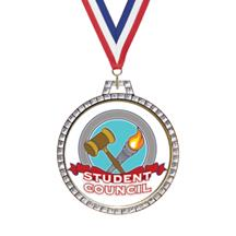 Diamond Student Council Insert Medal