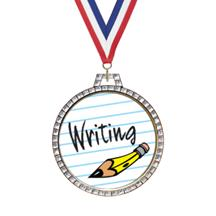 Diamond Writing Insert Medal