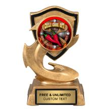 Electric Flame Chili Cook Off Insert Trophy