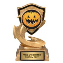 Electric Flame Halloween Insert Trophy