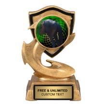 Electric Flame Humor Insert Trophy