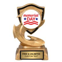 Electric Flame Memorial Day Insert Trophy