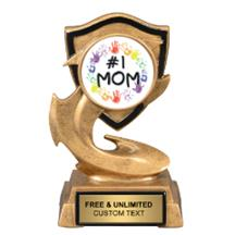Electric Flame Mother's Day Insert Trophy