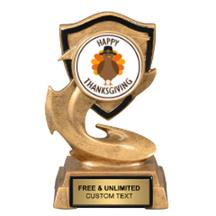 Electric Flame Thanksgiving Insert Trophy