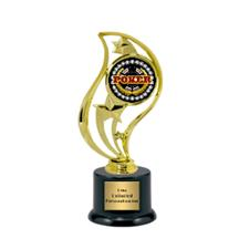Torch Star Insert Cards Trophy