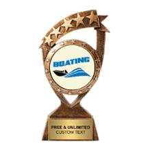 Ribbon Banner Boating Insert Trophy