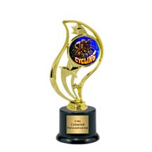 Torch Star Insert Cycling Trophy