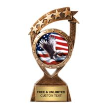 Ribbon Banner Eagle Insert Trophy