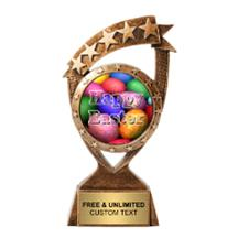 Ribbon Banner Easter Insert Trophy