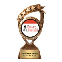 Ribbon Banner Fantasy Football Insert Trophy