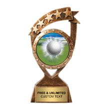 Ribbon Banner Golf Insert Trophy