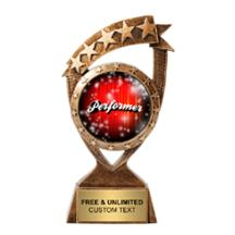 Ribbon Banner Performer Insert Trophy