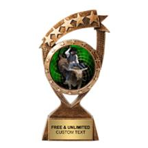 Ribbon Banner Rodeo Insert Trophy