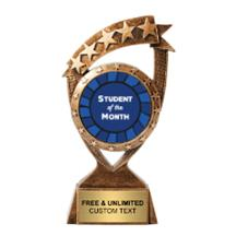 Ribbon Banner Student of the Month Insert Trophy