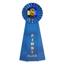 Business Rosette Ribbon