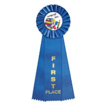 Language Arts Rosette Ribbon