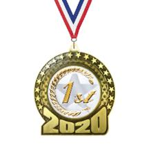 2020 1st Place Insert Medal
