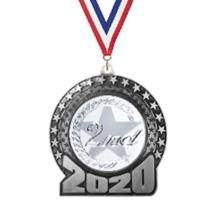 2020 2nd Place Insert Medal