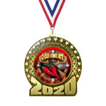 2020 Chili Cook Off Insert Medal