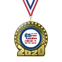 2020 Fourth of July Insert Medal