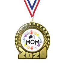 2020 Mother's Day Insert Medal