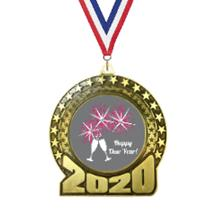 2020 New Year's Insert Medal