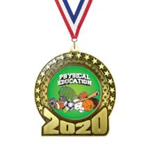 2020 Physical Education Insert Medal