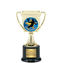 Victory Cup Handball Insert Trophy
