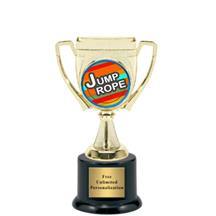 Victory Cup Jump Rope Insert Trophy