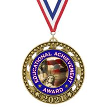 Victory Star 2021 Academic Medal